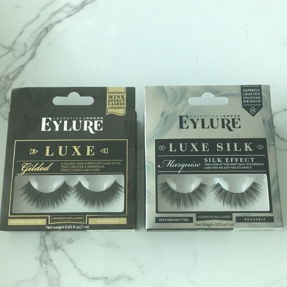 8ead75f5589 eylure Makeup | New Eyelure Luxe False Eyelashes | Poshmark